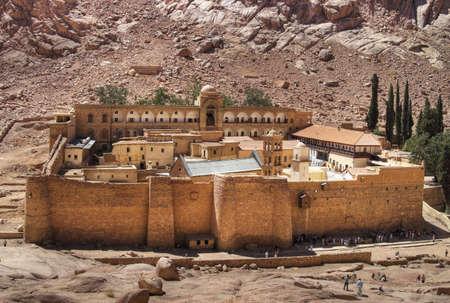 Monastery of Saint Catherine, Sinai, Egypt.