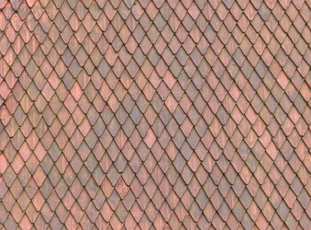 Roof Tile texture material of european medieval building Stock Photo - 9993726
