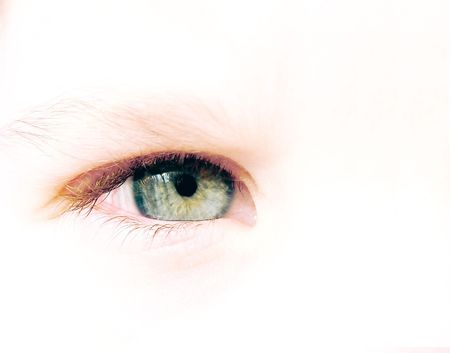 Child eye Stock Photo