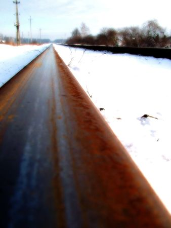 constitutionality: Railway, winter, drem tone