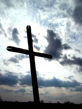 Cross in sky