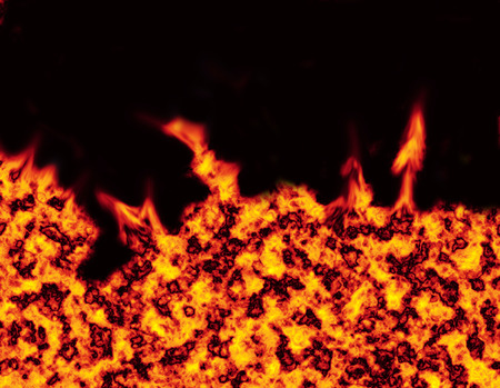 ardour: fire background on a black backdrop just like hell its self