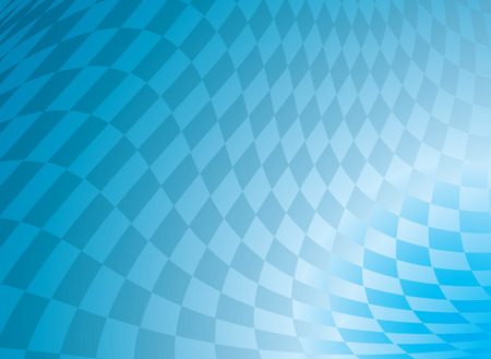 checkered blue abstract design in a flagdesign that would make an ideal background Illustration