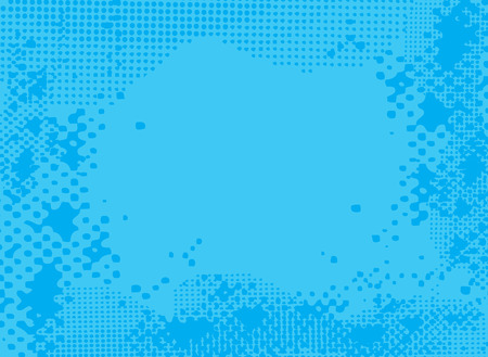 Abstract blue halftone background with room to add your own copy Stock Vector - 1805633