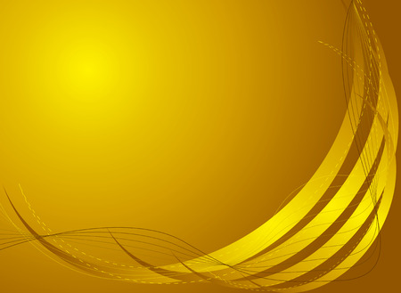 Abstract golden background with plenty of room to addyour own text Vector
