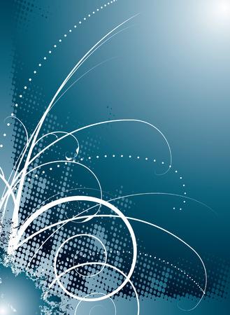 would: ghiaccio freddo disegno floreale che renderebbe un ideale sfondo o wallpaper