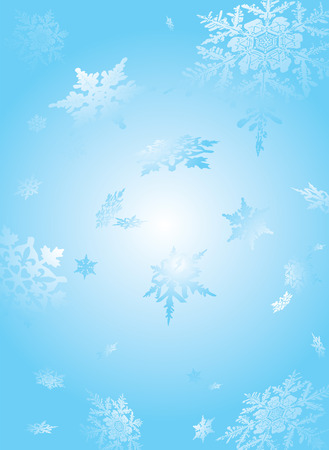 lustre: subtle snowflake background in light cyan and white ideal to place text over