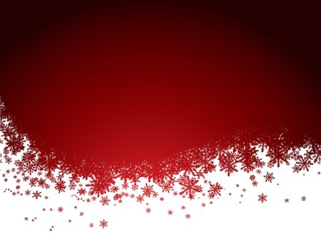 drifts: christmas background in red and black with snowflakes