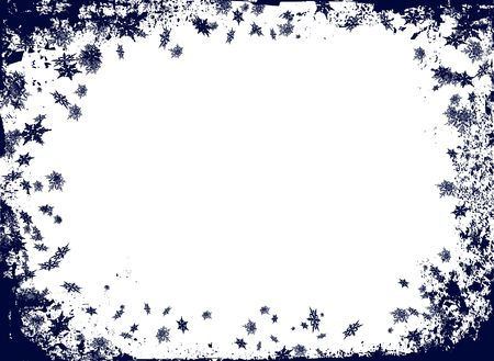 luster: christmas border themed image with room to add your own text