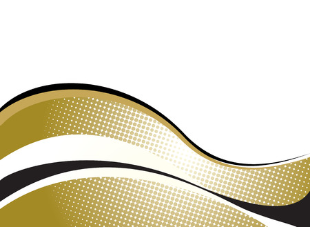 swell: golden background with wave effect that would be ideal to place text around