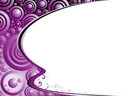 Purple and black background ideal as a corner feature Vector