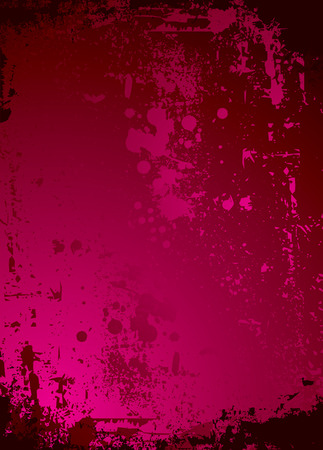 crimson and black abstract background in a rough gothic style Vector
