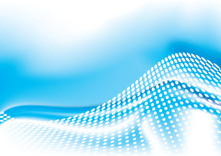 distort: El oc�ano inspir� dise�o del agua con forma abstracta de la onda en blanco Vectores