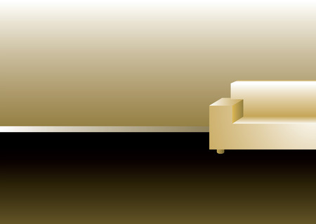 refreshment: Illustrated chair background with room to add your own text
