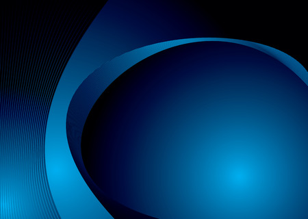Abstract black and blue background design with copy space