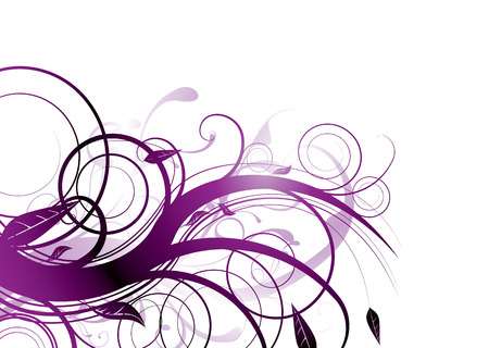 magenta flowers: Purple inspired natural image with flowing lines that would make an ideal background