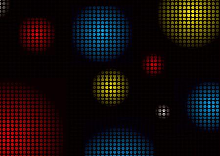 distort: Resumen de colores de fondo discoteca con forma de bolas patr�n