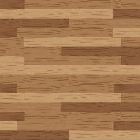 teak: Wooden flooring running in a horizontal direction in brown