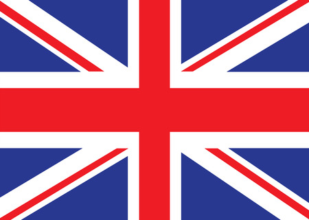Illustrated version of the british flag ideal for a background