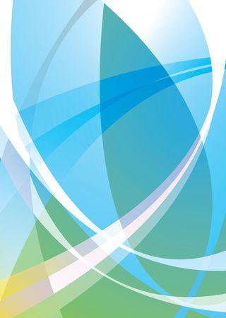subtle background: Illustrated subtle background in greens and blues ideal desktop