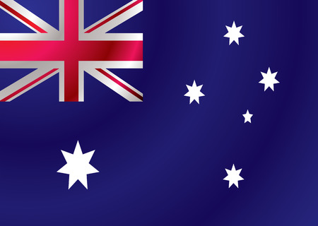 Australian flag with a wind ripple make an ideal background Stock Vector - 3200477