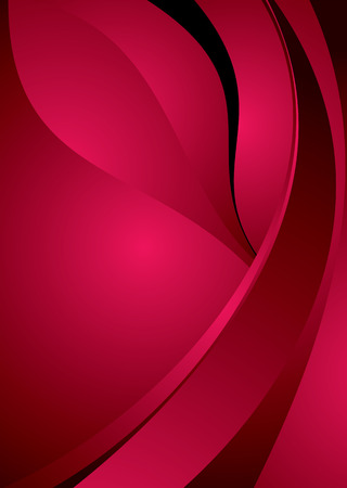 Abstract illustrated background image with red copy space Stock Vector - 3216434