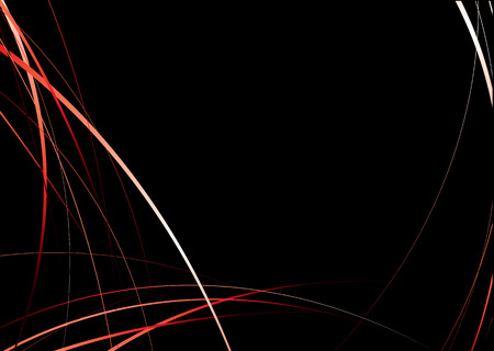 flowing red and black background image with copyspace Stock Vector - 3260065