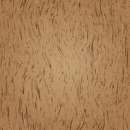 plywood: realistic illustrated wood grain background in two tone brown