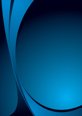 Abstract blue and black background with plenty of copy space Stock Vector - 3275951