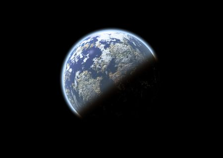 eclipse: How the planet could look in the future with global warming