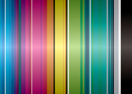 Illustrated rainbow background that would make an ideal desktop Stock Vector - 3290692
