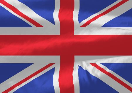 Illustrated version of the british flag ideal for a background Stock Photo - 3348683