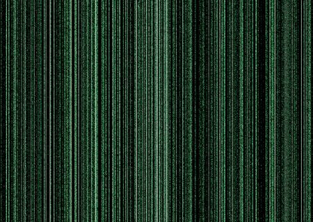 Illustrated matrix concept background image in black and green Stock Photo - 3430728