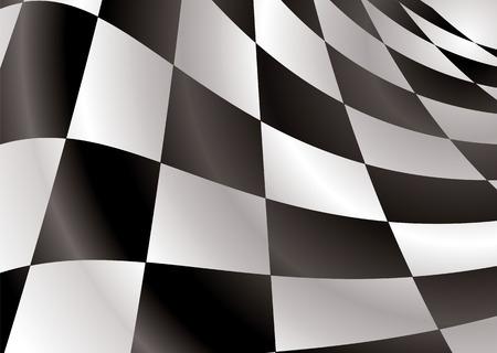 cuadros blanco y negro: Acabado bandera de fondo con estilo abstracto plazas