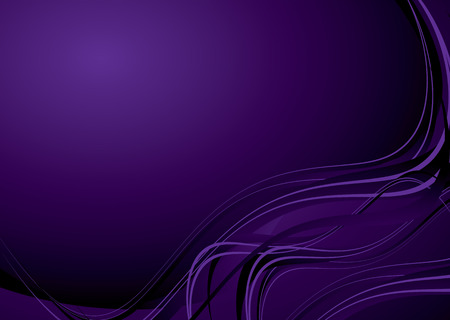 Mauve purple background with flowing lines and copy space Vector