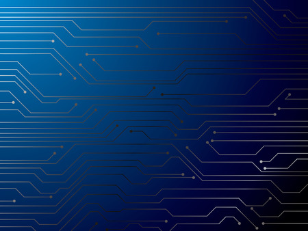 ideal: Illustration of a digital circuit board that is ideal as a background