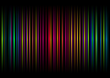 vertical bars: Colourful illustrated abstract background with vertical bars and stripes
