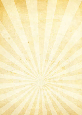 sunrays: Cream and yellow radiating background with a weathered look LANG_EVOIMAGES