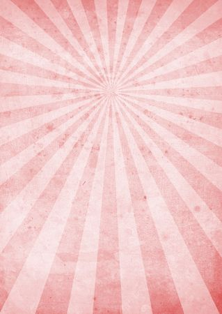 radiate: red and pink radiating background with a weathered look