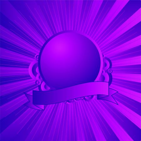 Modern shield in purple and magenta with room for you to add your own logo and text Stock Photo - 3641558