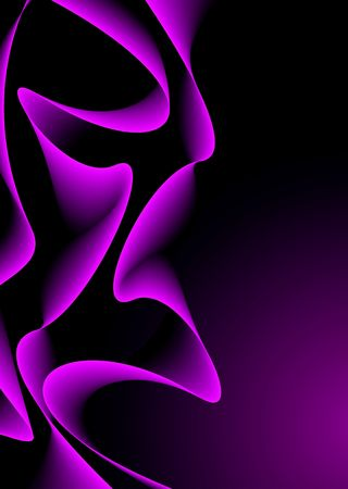 Flowing abstract background with a wave design and copy space Stock Photo
