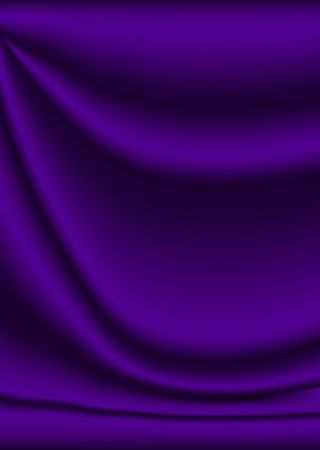 velvet material background in purple with creases and ripples