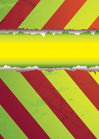 modern style warning background in bright colorful hues Vector