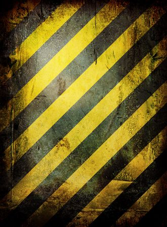 warning grunge background with room to add your own copy Stock Photo - 3804322