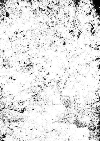 spatter: Black and white mono background with a worn grunge texture effect