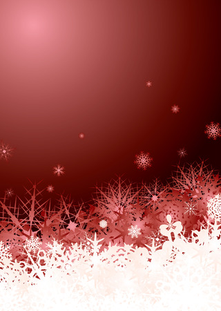 froze: Subtle snow flake design ready for your christmas text