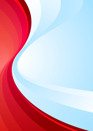 contrasting: Contrasting colours red and blue make this ideal background