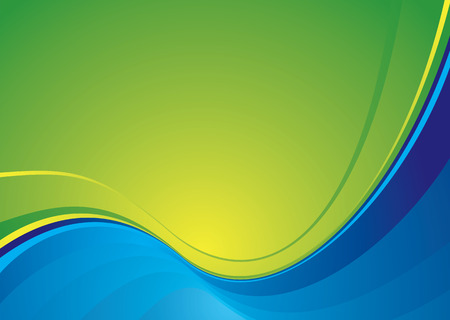 contrasting: Contrasting colours in blue and green creating a modern background