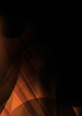 Abstract orange and black background with copyspace Stock Photo - 4160916