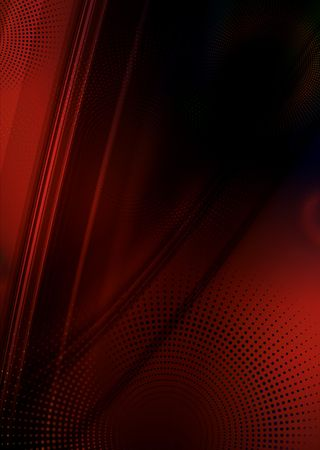 Red and black abstract flow background with copyspace Stock Photo